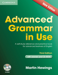 Advanced Grammar in Use with Answers and CD-ROM