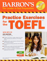 Barron's Practice Exercises for the TOEFL