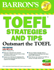 Barron's TOEFL Strategies and Tips