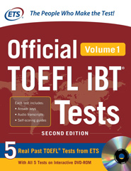 Official TOEFL iBT Tests with Audio CD Volume 1