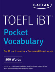 TOEFL iBT Pocket Vocabulary